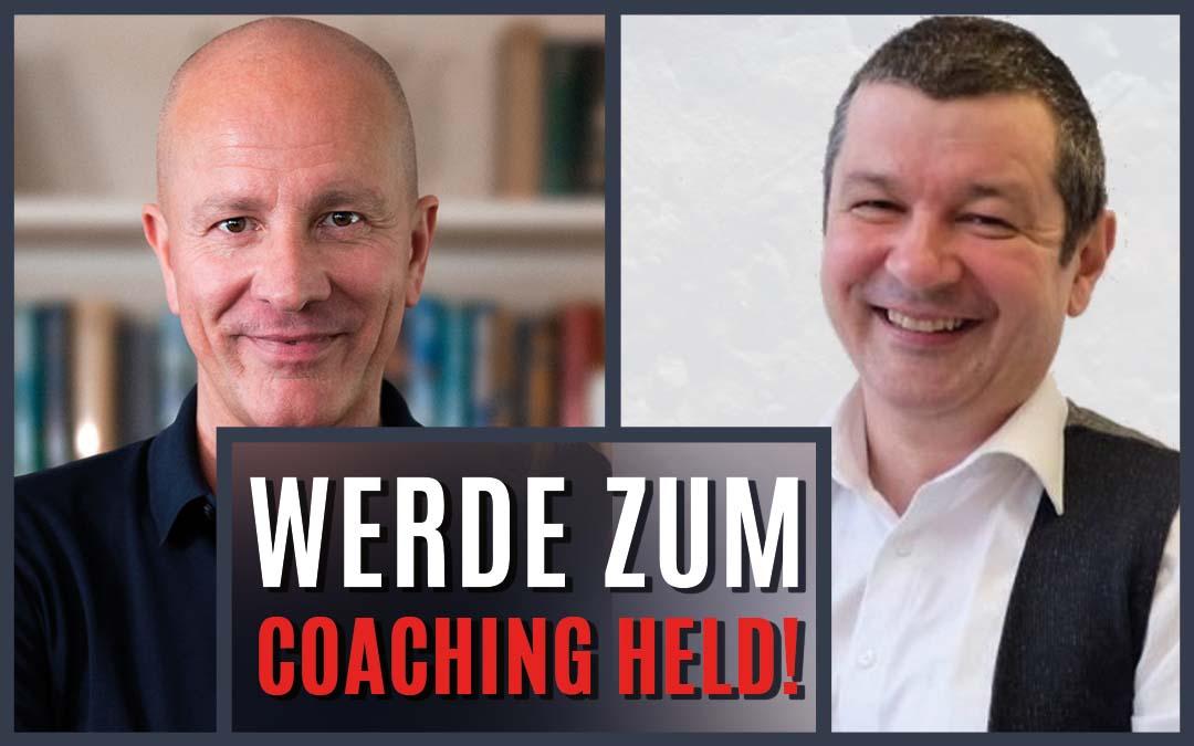 """Christian beim """"Erfolgreich und glücklich als Coachingheld!""""-Kongress"""