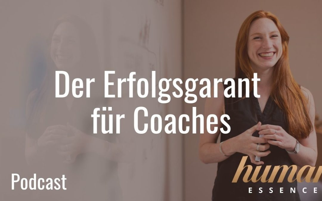 Der Erfolgsgarant für Coaches