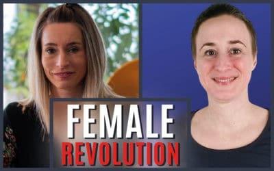 """Lilian beim Online Kongress """"Female Revolution"""" von Sabrina Haar"""
