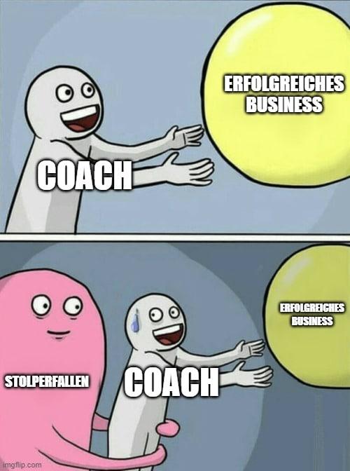 Stolperfallen Selbständigkeit als Coach
